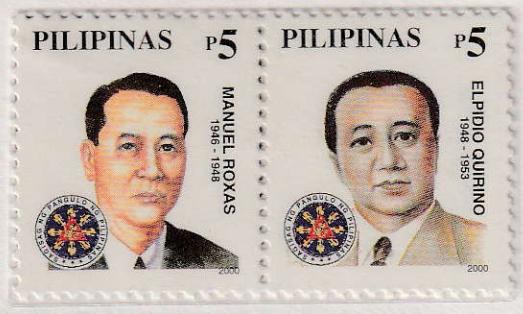 Manuel A. Roxas and Elpidio Quirino