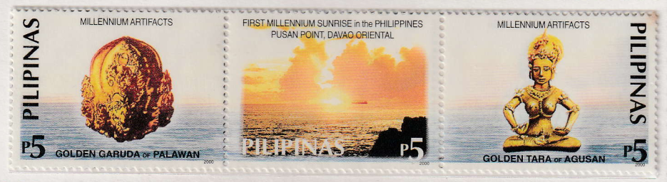 The Golden Garuda of Palawan, Sunrise at Pusan Point and The Golden Tara of Agusan