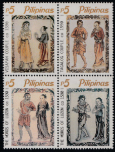 Filipinos of Yesteryears as Illustrated in the Boxer Codex