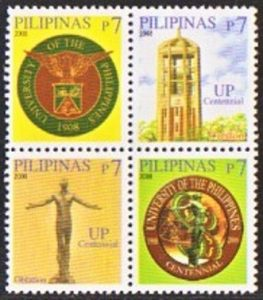 UP's Official Seal, Oblation and Centennial Logo