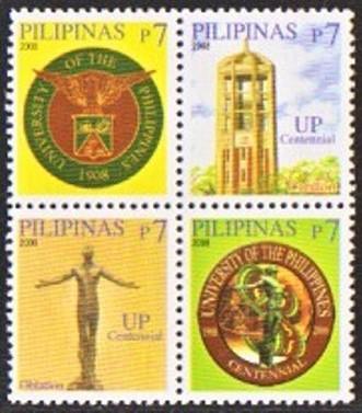 UP's Official Seal, Carillon, Oblation and Centennial Logo