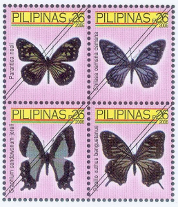 Stamps featuring Butterflies XI